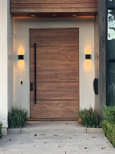 9 modern exterior doors that make coming home feel like a