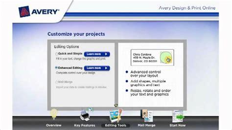 avery design and print avery design and print with free templates