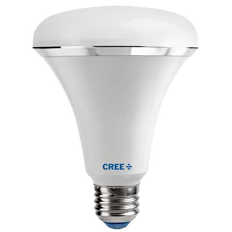 cree led light bulbs cree 100w equivalent soft white 2700k br30 dimmable led