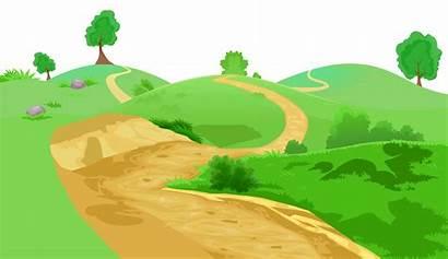 Grass Transparent Clip Clipart Pathway Mountain Grounds