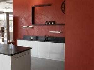 kit de beton cire pour sol et mur nuances minerales With beton cire mur cuisine