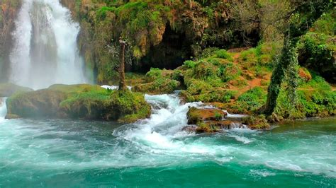 Relaxing Images Relaxing With Nature Sounds Waterfall Hd