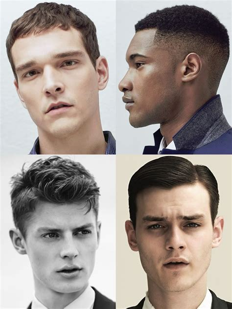 mens hairstyleshaircuts  square face shapes face