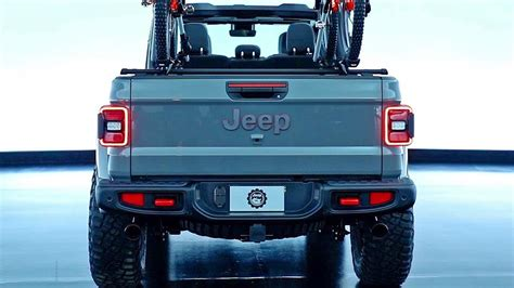 2020 Jeep Gladiator Aftermarket Parts by 2020 Jeep Gladiator Modified By Mopar