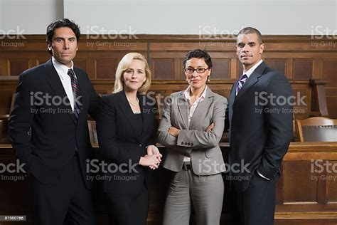 Portrait Of Lawyers Stock Photo - Download Image Now - iStock