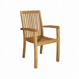 Chaise Jardin Bois : fauteuil de jardin en bois de teck midland bois dessus bois dessous ~ Teatrodelosmanantiales.com Idées de Décoration