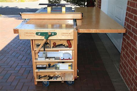 ekho mobile workshop portable cabinet  work bench