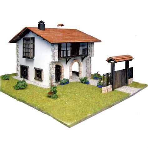 maquette maison en bois artesania 30611n maquette a monter en bois maison cantabra francis miniatures