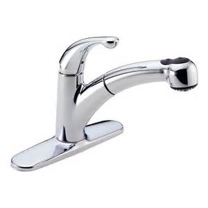 pull kitchen faucet delta palo single handle pull out sprayer kitchen faucet