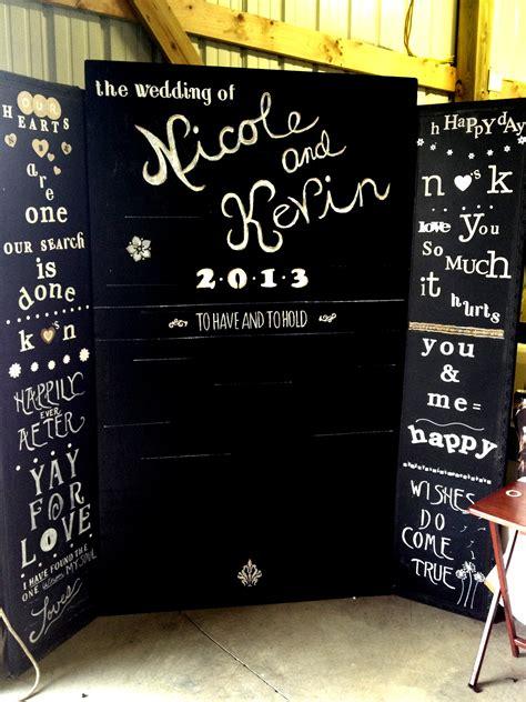 chalkboard wedding photobooth idea albany saratoga ny dj albany wedding dj sweet 16 dj