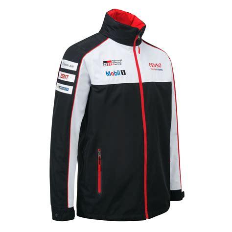 zipped jacket toyota motorsport mens lightweight jacket coat ts050