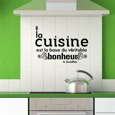 stickers citation cuisine sticker citation cuisine de a escoffier pas cher