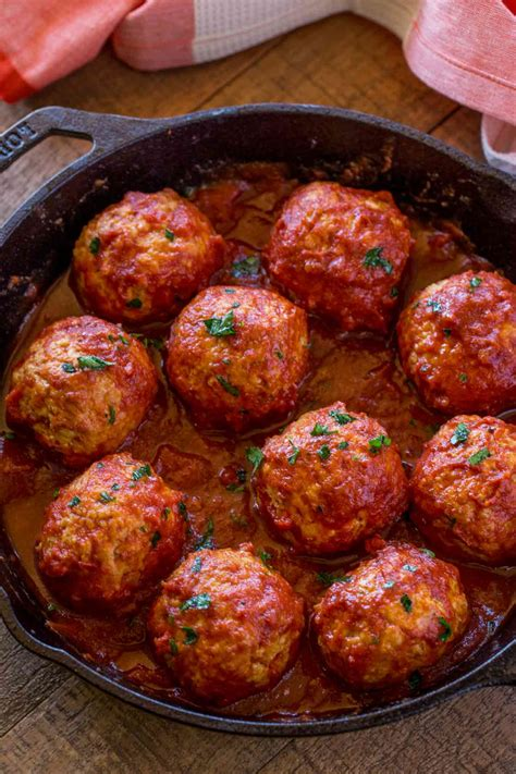 Chicken Meatballs In Marinara Sauce  Cooking With Points