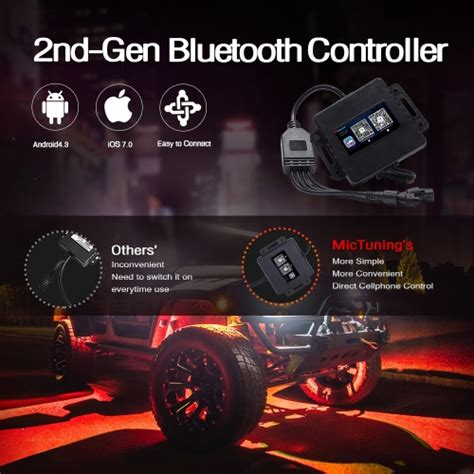bluetooth  control compatible  ios   android