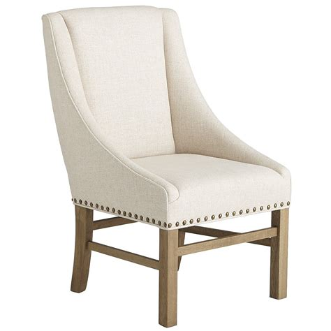 restoration hardware nailhead upholstered chair decor  alikes