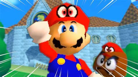 Super Mario 64 Gets Unreal Makeover Nova