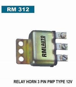 Horn Relay 3 Pin Pmp Type 12 Volt
