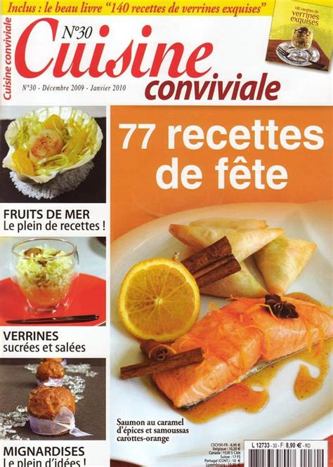 gourmand magazine cuisine abonnement magazine cuisine conviviale