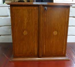 antique humidor cabinet for sale antiques atlas edwardian inlaid oak smokers humidor