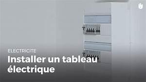 Installer Un Tableau électrique : comment installer un tableau lectrique faire des petits ~ Dailycaller-alerts.com Idées de Décoration