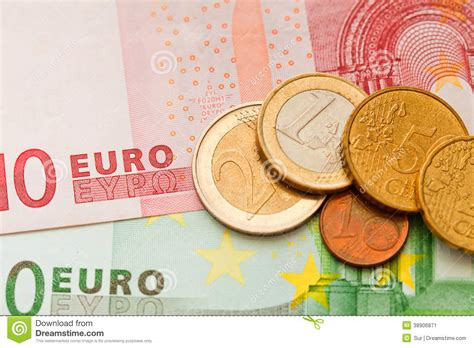 money euro stock photo image