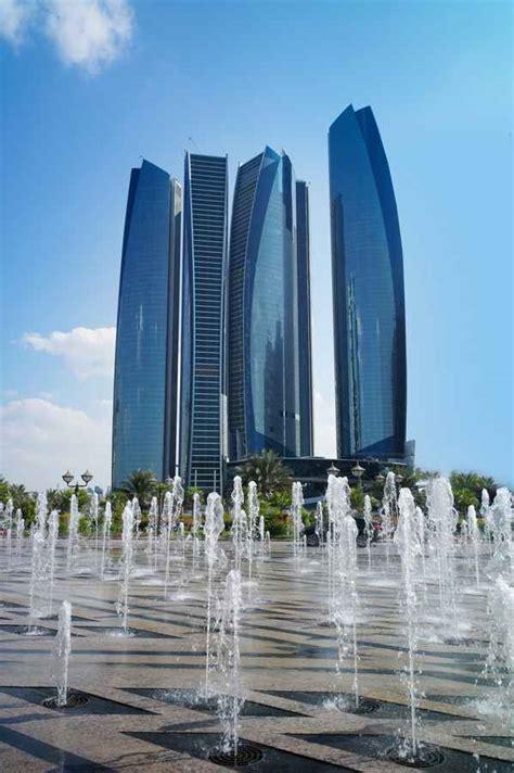 etihad towers abu dhabi skyscrapers  architect