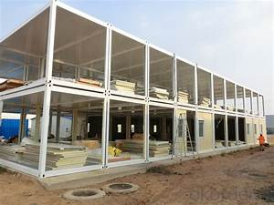 Buy Container Accommodation G+1 Sandwich Panel House
