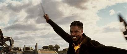Killmonger Panther Mcu Fight Soldier Winter Midnight
