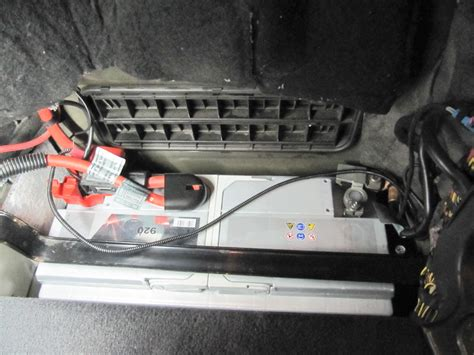E60 Battery by Wo Ist Die Batterie Beim Bmw E60