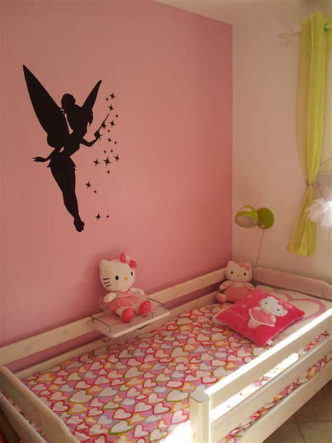 chambre fee decoration chambre fille fee clochette