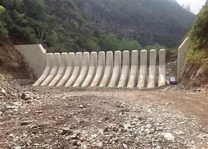 Slit Dams In S Ta Luzia Stream For Debris Flow