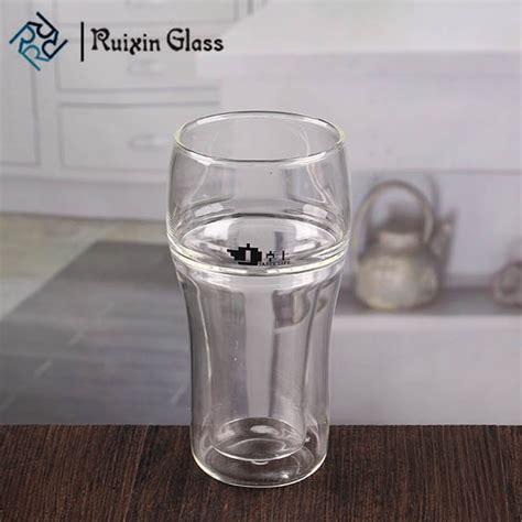 fabbrica bicchieri vetro handmade doppia parete bicchieri 10 oz vetro