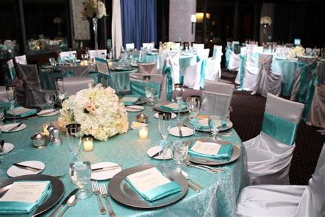 teal blue  silver wedding
