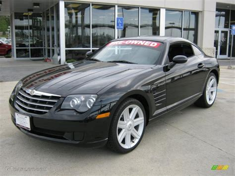 Black Chrysler Crossfire by 2007 Black Chrysler Crossfire Coupe 28196683 Photo 4