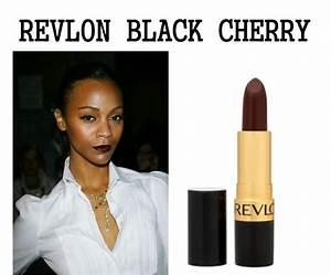 Revlon Black Cherry On Dark Skin