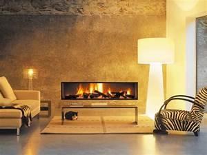 Cheminée Bois Design : chemin es design au gaz focus focus ~ Premium-room.com Idées de Décoration