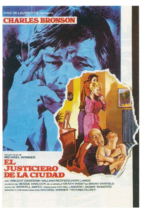 It gives us charles bronson in a role that. Death Wish (1974) - Posters — The Movie Database (TMDb)