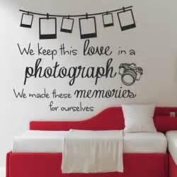 Ed sheeran photograph lyrics wall sticker camera