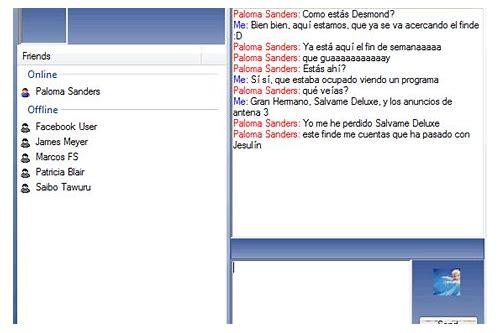 baixar facebook chat aplicação jar for nokia