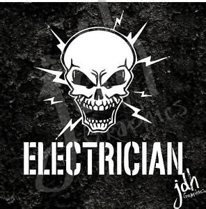 Electrician Skull Vinyl Decal Sticker Car Truck Journey. Glass Block Decals. Lettering Tattoo Lettering. Donkey Stickers. Racing Flag Stickers. Royal Blue Banners. Diy Logo Signs Of Stroke. Diabetes Symptom Signs. Food Company Logo