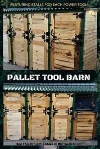 Pallet Stall Tool Shed Features Dutch Doors • 1001 Pallets