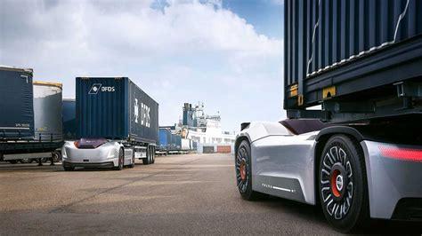 volvo vera electric autonomous hauler hits  road