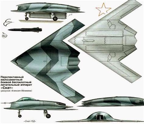 Russia's Unmanned Next Generation Fighter Is Being Based