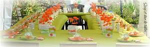 Deco Table Anniversaire Femme : decoration de table anniversaire 60 ans ~ Melissatoandfro.com Idées de Décoration