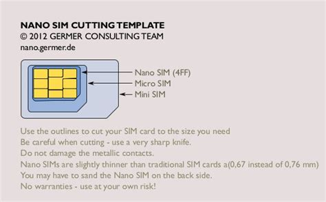 giffgaff micro sim cutting template