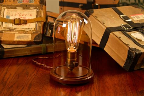 Edison Glass Bell Jar Lamp Diy Ikea Coffee Table Makeover Price Slim Old World Map Lift Top Oak Drawer Repurpose Industrial Tables With Wheels