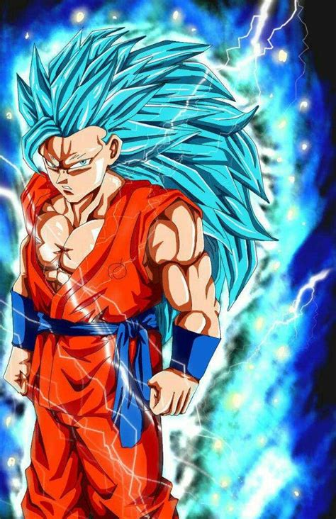Goku deus azul sayajin 3 Dragon Ball Oficial™ Amino