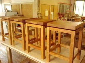 kitchen island stool height crafted kitchen island height cherry bar stools by infusion furniture custommade com