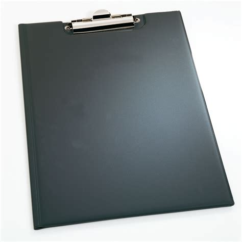 porte document pour bureau durable porte bloc a5 avec rabat standard coloris noir