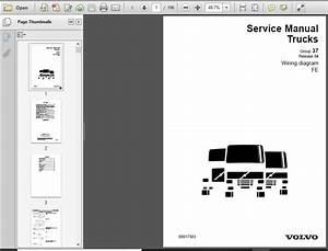 Volvo Fe Truck Wiring Diagram Service Manual  June 2009